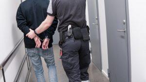 being arrested for drug use